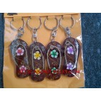 Key Holder Wooden Chains