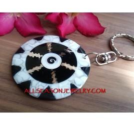 Keyrings Charm Shell Bags