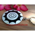 Seashell Key Ring Holder Bag