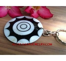 Seashell Key Ring Holder Bag