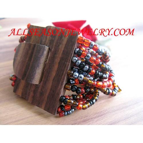 beaded bracelets buckle