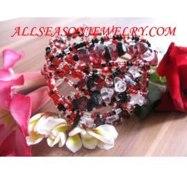 handmade bead bracelet