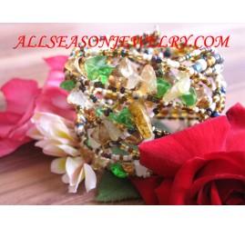Sequin Bead Bracelet