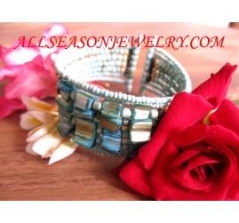 Bali Beading Bracelet Cuff