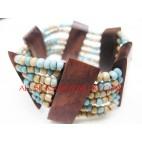 Bali Bead Stretch Bracelets