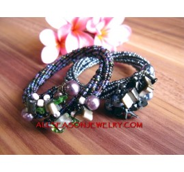 Multi Wrap Bead Bracelets