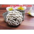 Bead Bracelet Flower Design