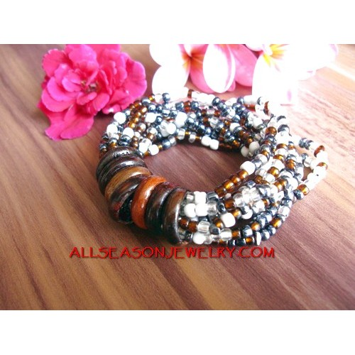Stretch Bead Bracelet Bali