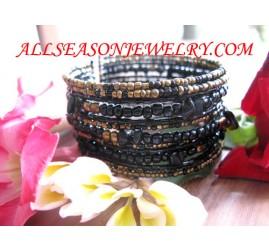 bead bracelet natural