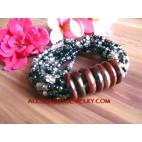 Multi Strand Bead Bracelet