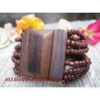 Bead Wood Bracelet Buckle