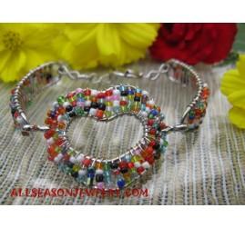 Beaded Bracelet Stainless