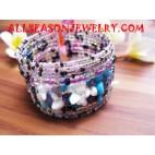 Beads Bracelet With Stone
