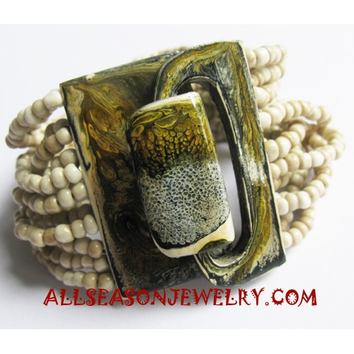 Beads Buckle Bracelets