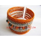 Beads Fashion Cuff Design
