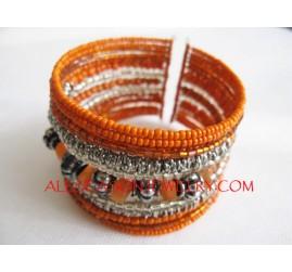 Beads Fashion Cuff Design