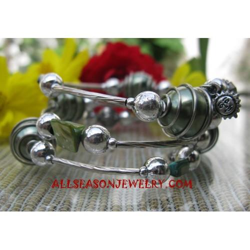 Beads Stainless Bracelet