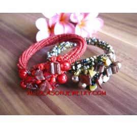Beads Wrapted Bracelet