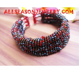 Bracelet by Beads Material