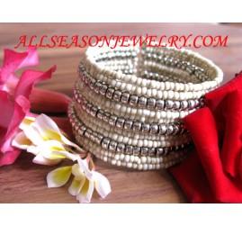 bracelet elastic bead