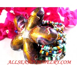 Buckle Beads Bracelets