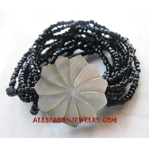 Carving Shells Bracelet
