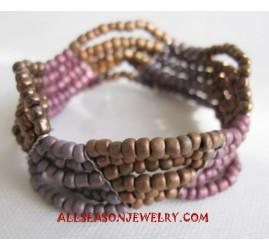 Elastic Beading Bracelets