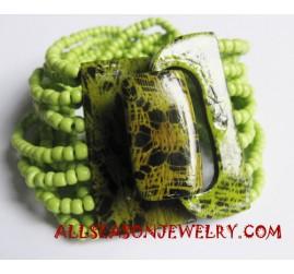 Elastic Bead Bracelet Buckle