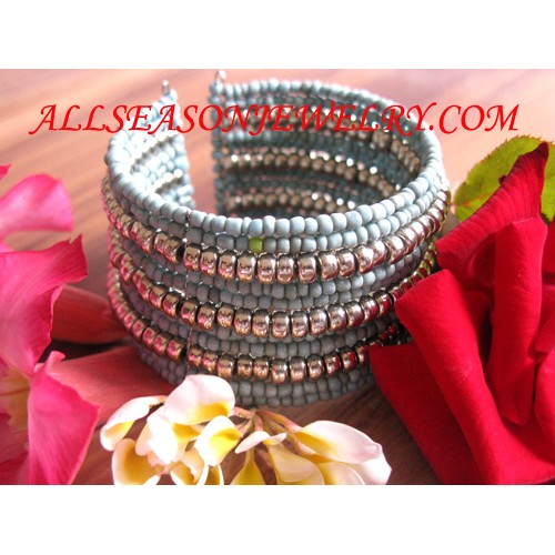 elastic bracelet bead