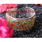 Bali Bracelet Beaded Cuff