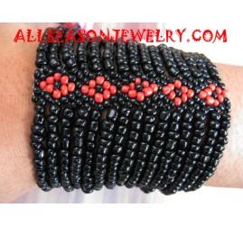 Elastic Sequin Bracelets