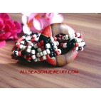 Exotic Bead Bracelet Wood