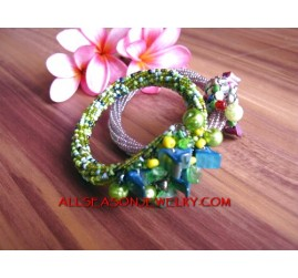 Fashion Bead Wrap Bracelet