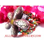 Flower Beads Bracelets