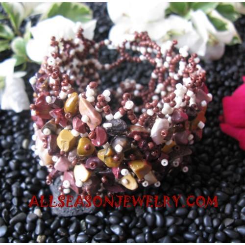 Coral Bead Bracelets