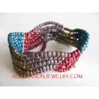 Mattes Bead Bracelet