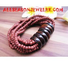 Beading Wood Bracelets