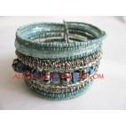 Bali Wire Cuff Bracelets