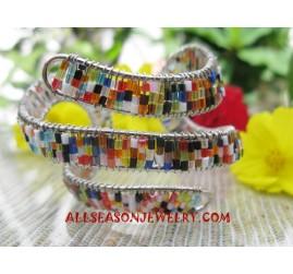 Bracelets Beaded Stainless