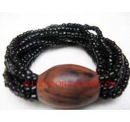 Bead Wooden Bracelets