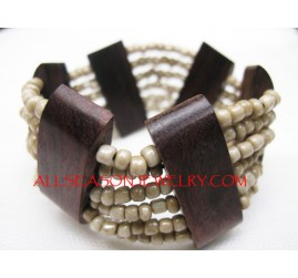 Beads Wood Stretch