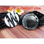 Paua Shell Bracelet Beads