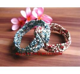Plum Bead Bracelet