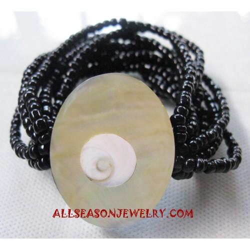Resin Shell Bracelet