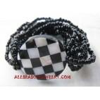 Seashell Bead Bracelets