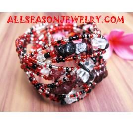 Seashell Beaded Bracelet