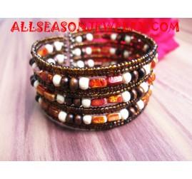 Seashell Beading Bracelet