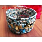 Sequin Bracelet With Stone