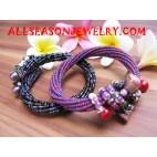 Sequin Shell Bracelet