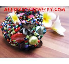 Sequins Seashell Bracelet